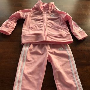 Adidas Baby Girl Tracksuit 6m